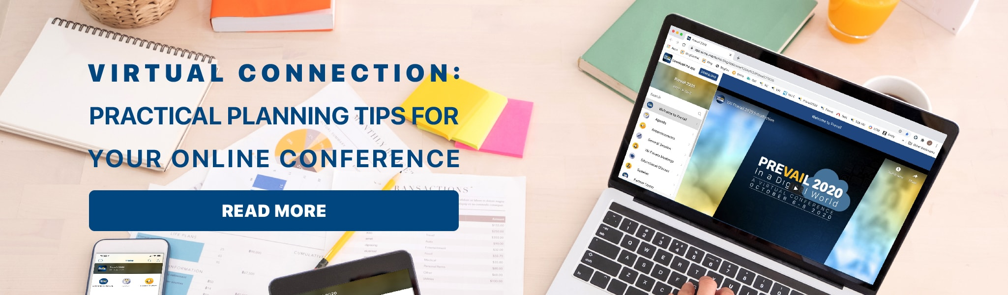 Virtual Connection: Practical Planning Tips for Your Online Conference